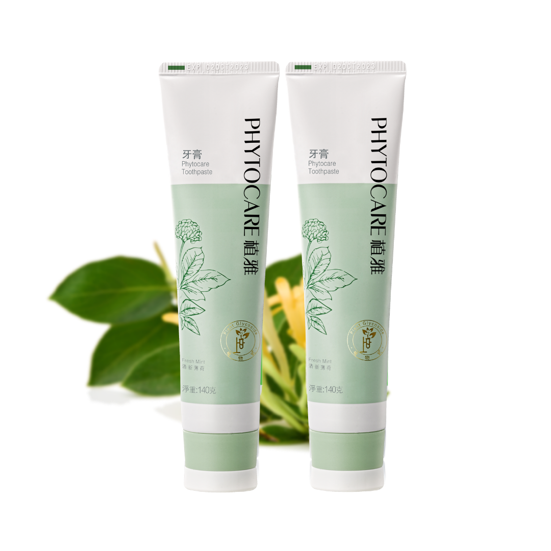 Phytocare toothpaste twin pack